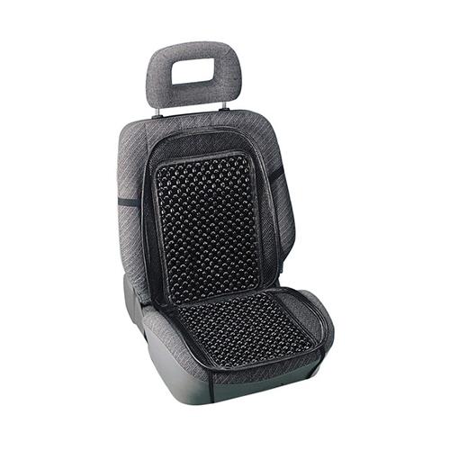Podložka sedadla masážna čierna