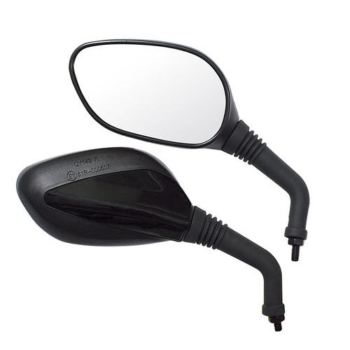 Spätné zrkadlá na motocykel čierne D8