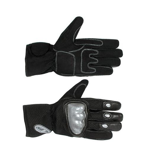 Motocyklové rukavice L